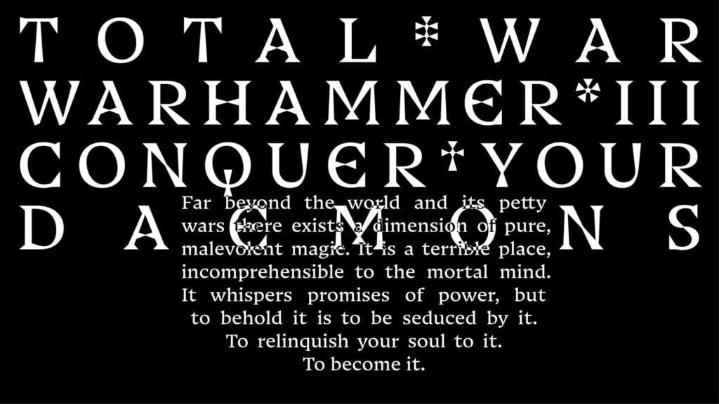Pentagram's new typeface for Warhammer